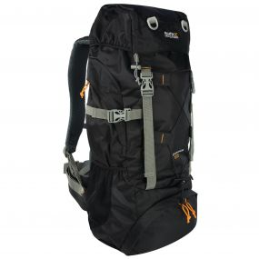 Survivor III 65 Litre Backpack Rucksack Black