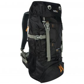 Survivor III 85 Litre Backpack Rucksack Black