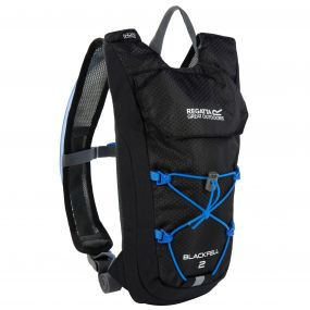 Blackfell II 2 Litre Hydration Backpack Black French Blue
