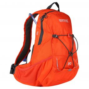 Blackfell II 20 Litre Hydration Backpack Rucksack Amber Glow Ebony
