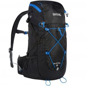 Blackfell II 25 Litre Backpack Black French Blue