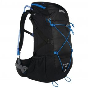 Blackfell II 35 Litre Backpack Black French Blue
