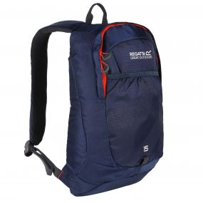 Bedabase II 15L Backpack Rucksack Dark Denim Amber Glow