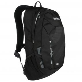 Altorock II 25 Litre Backpack Rucksake Black Light Steel
