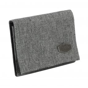 Burford Tri-Fold Hardwearing Wallet Nautical Grey