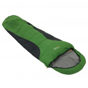 Hilo 250 Single Layer Lined Ripstop Mummy Sleeping Bag Extreme Green