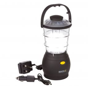 Helia 12 LED Dynamo Lantern Camping Lamp UK Black