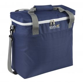 Freska 15 Litre Cool Bag with Shoulder Strap Navy