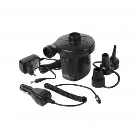 AC DC Recharageable Electric Pump Black
