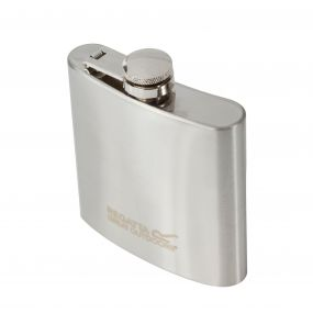 170ml Steel Hip Flask Silver