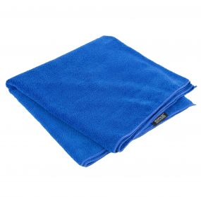 Compact Extra Large Travel Towel Oxford Blue