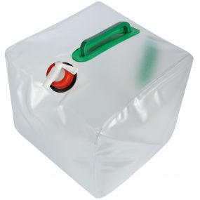 20 Litre Foldable Water Carrier White