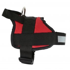 Reflective Dog Harness S Red