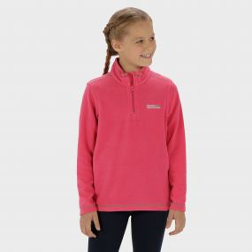 Hot Shot II Half Zip Lightweight Fleece Hot Pink