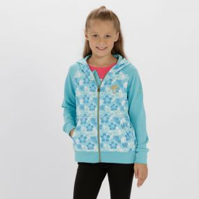 Kids Tetra Hooded Fleece Horizon