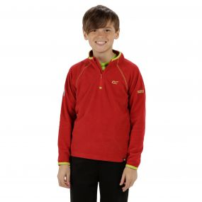 Loco Half Zip Fleece Pepper