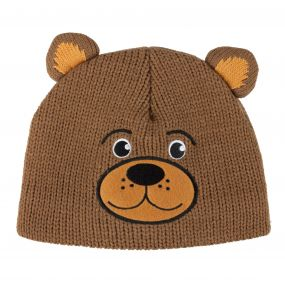 Kids Animally II Hat Saddle Brown