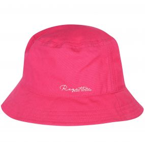Crow Coolweave Cotton Canvas Hat Hot Pink
