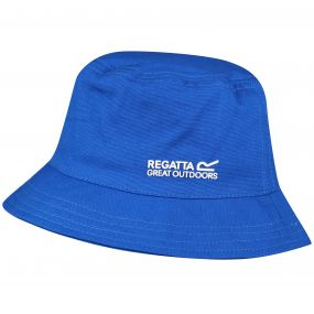Crow Coolweave Cotton Canvas Hat SkyDiver Blue