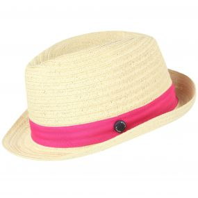 Takiyah Hat Calico Hot Pink