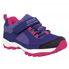 Girls Trailspace Low Junior Trail Shoes Clematis Jem
