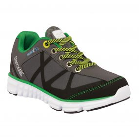 Kids HyperTrail Low Shoe Charcoal Green