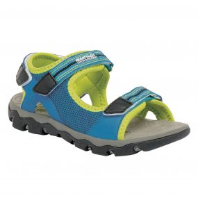 Kids Terrarock Sandal French Blue Lime