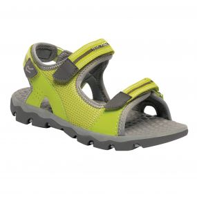Kids Terrarock Sandal Lime Steel