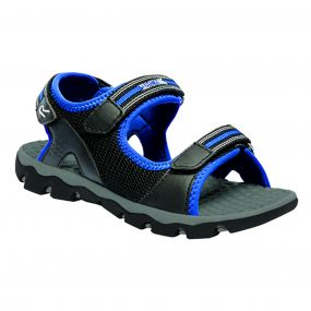 Kids Terrarock Sandal Black Oxford Blue