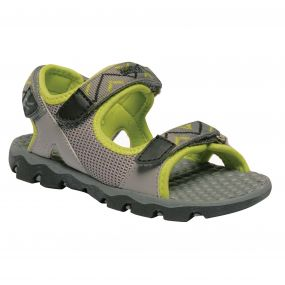 Kids Terrarock Sandals Rock Grey Lime Zest