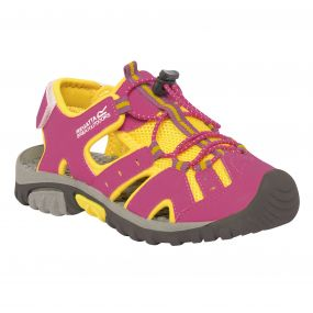 Kids Deckside Sandal Cabaret Yellow