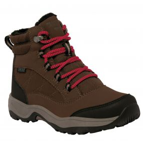 Kids Mountpeak Mid Walking Boot Chestnut