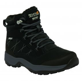 Kids Mountpeak Mid Walking Boot Black
