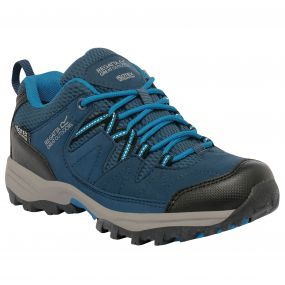 Kids Holcombe Low Walking Shoe Blue Methyl