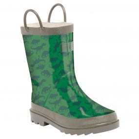 Kids Minnow Wellington Boot High lndigo Ivy