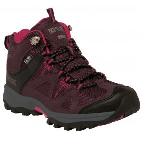Kids Gatlin Mid Walking Boot Fig Vivacious