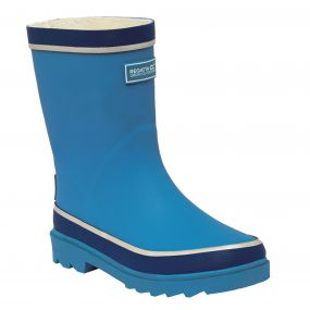 Kids Foxfire Wellington Boot Methyl Blue