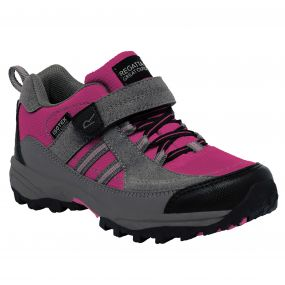 Kids Trailspace II Low Walking Shoe Jem Charcoal