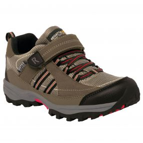 Kids Trailspace II Low Walking Shoe Kangaroo Black