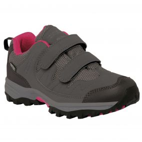Kids Helmshore Low Walking Shoe Steel Vivacious