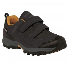 Kids Helmshore Low Walking Shoe Briar Gold