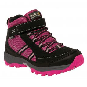 Kids Trailspace II Mid Boot Jem Black