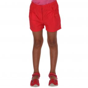 Girls Doddle Shorts Coral Blush