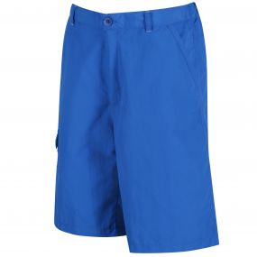 Kids Sorcer Lightweight Short Skydiver Blue
