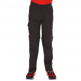 Sorcer Zip Off Trousers Ash