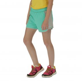 Girls Limber Shorts Jade Steel