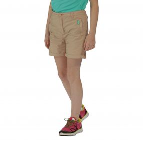 Girls Doddle II Shorts Moccasin