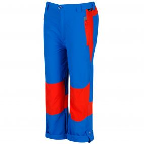 Sorcer Mountain lll Lightweight Trousers Skydiver Blue Amber