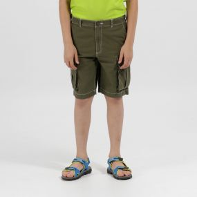 Shorefire Coolweave Cotton Canvas Shorts Ivy Green