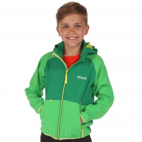 Arowana Softshell Jacket Fairway Green